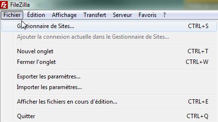 Transferts ftp(s) et sftp sur votre stockage en ligne avec Filezilla - 1