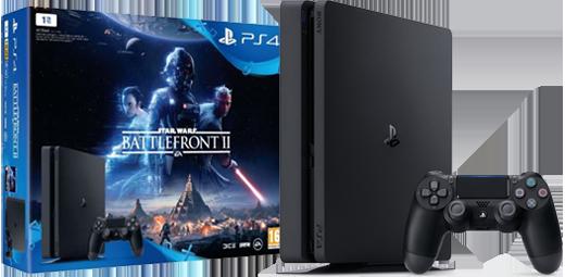 PS4 + Star Wars Battlefront II-pakket!
