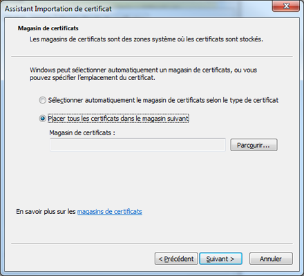 Support ikoula helpdesk for Bureau virtuel windows 7