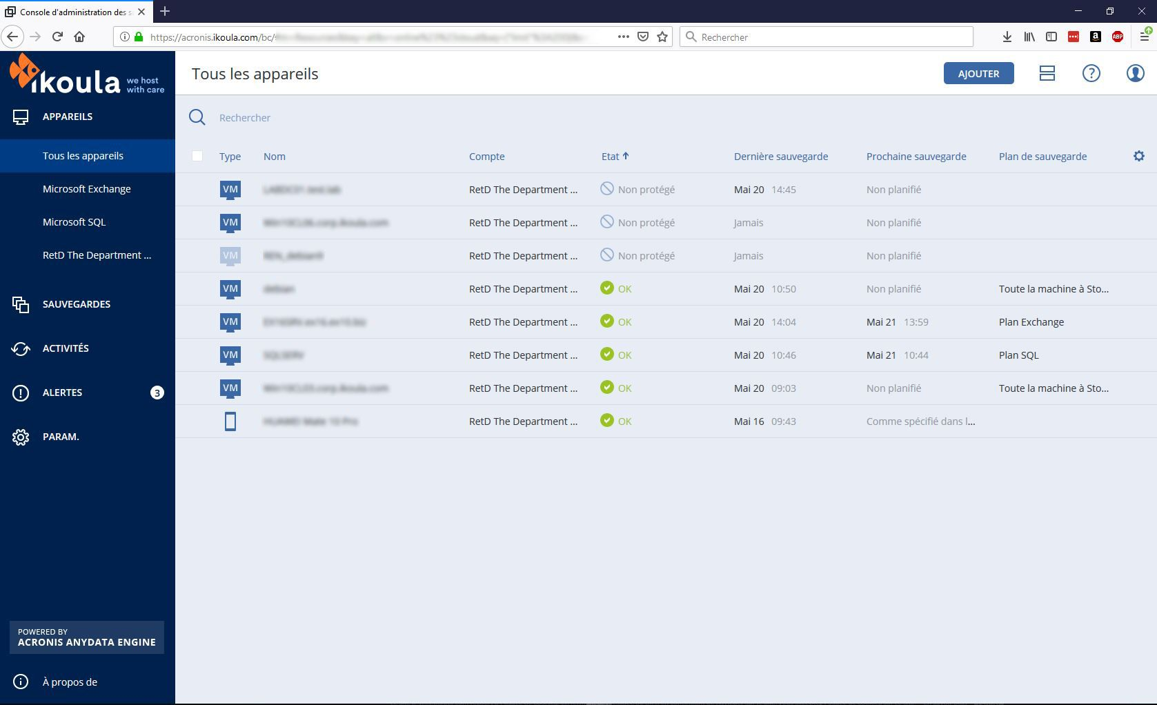 Cloud Backup Acronis