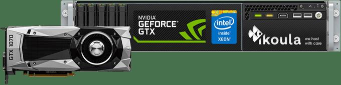 El servidor dedicado Xeon GPU