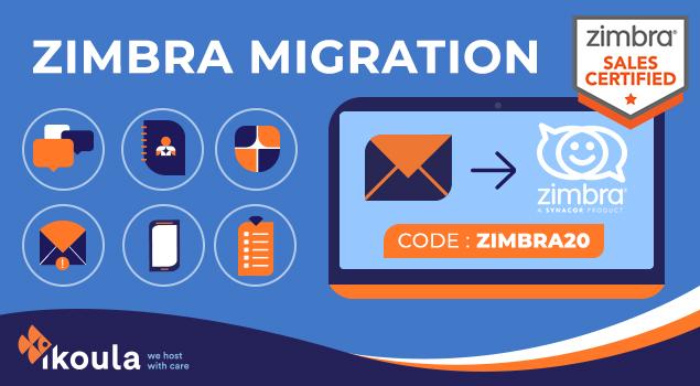 Migration Zimbra